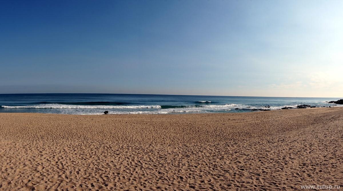 Зимний пляж Каннына