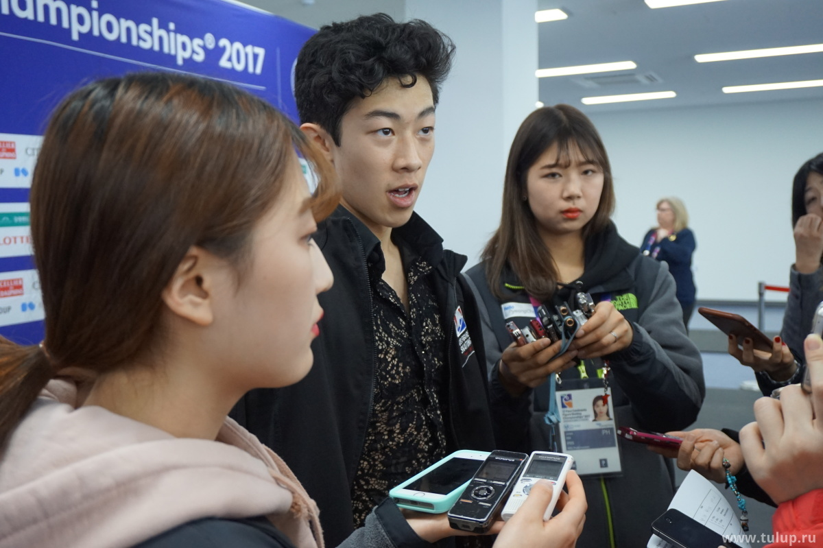 Nathan Chen — один из немногих представителей трех других (кроме Азии) континентов, к которому проявила интерес пресса