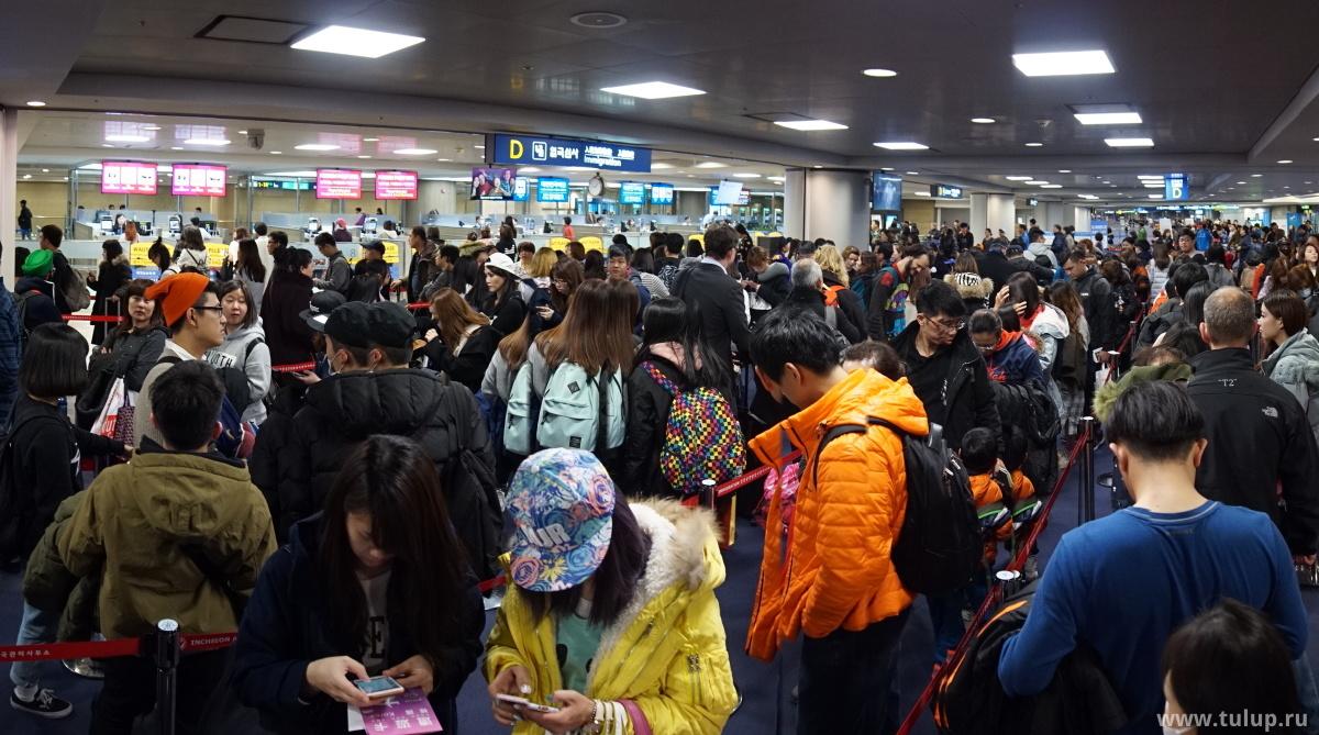 Приветствие по-корейски: для иностранцев открыто всего несколько окон, для корейцев — несколько десятков.
