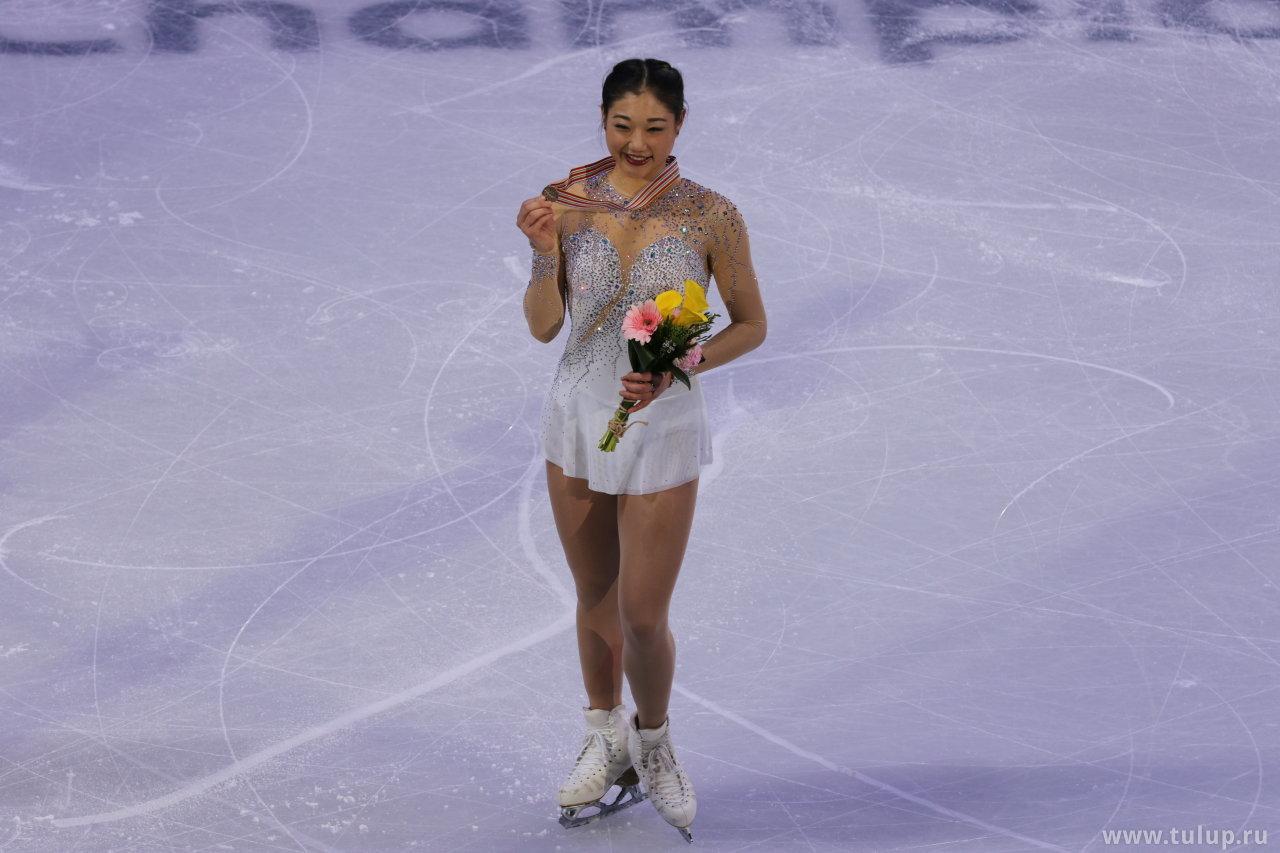 Mirai Nagasu с бронзовой медалью ЧЧК 2017