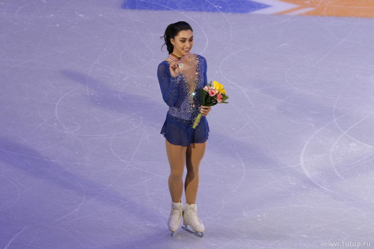 Gabrielle Daleman с серебряной медалью ЧЧК 2017