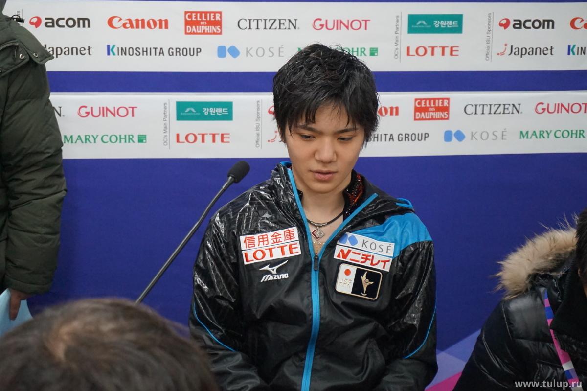 Shoma Uno для японской прессы