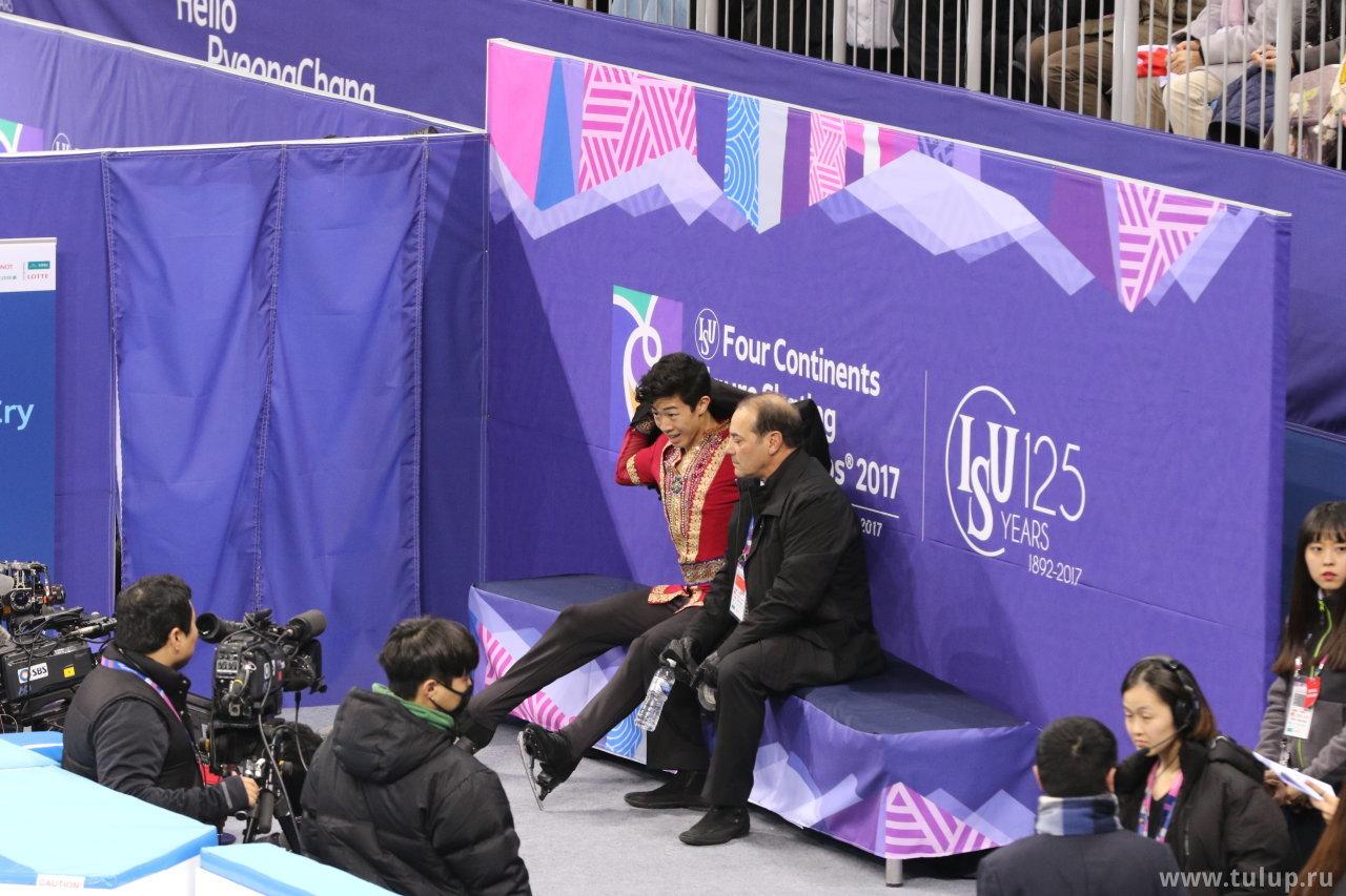 Нэйтан Чень в ожидании оценок