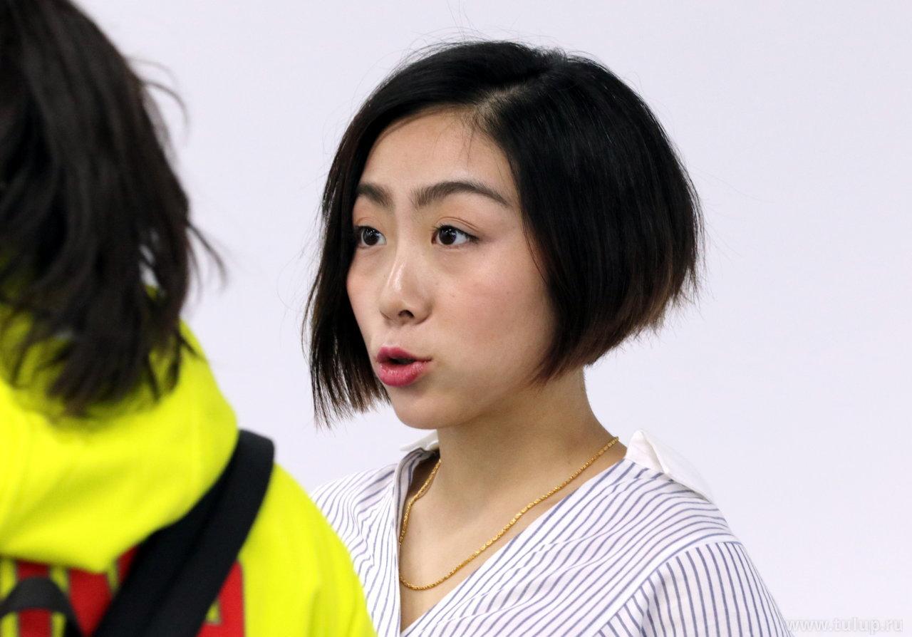 Sui Wenjing (隋文静 — Суэй Веньцзин) рассказывает о своих впечатлениях