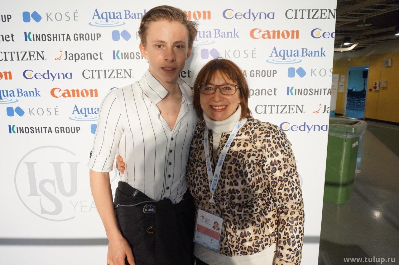 Николай Майоров с мамой