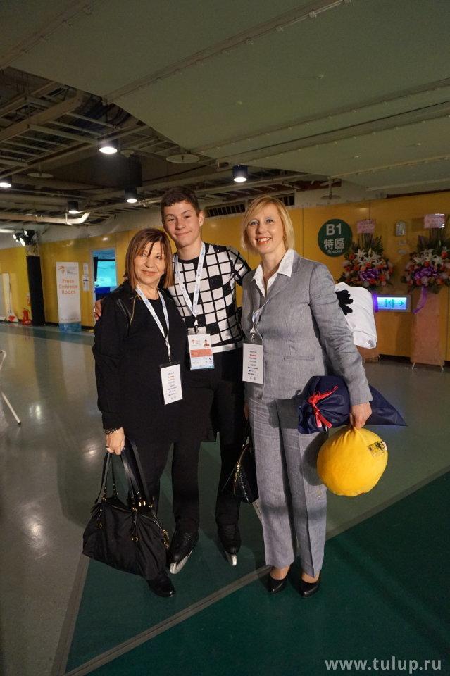Mark Gorodnitsky с тренерами