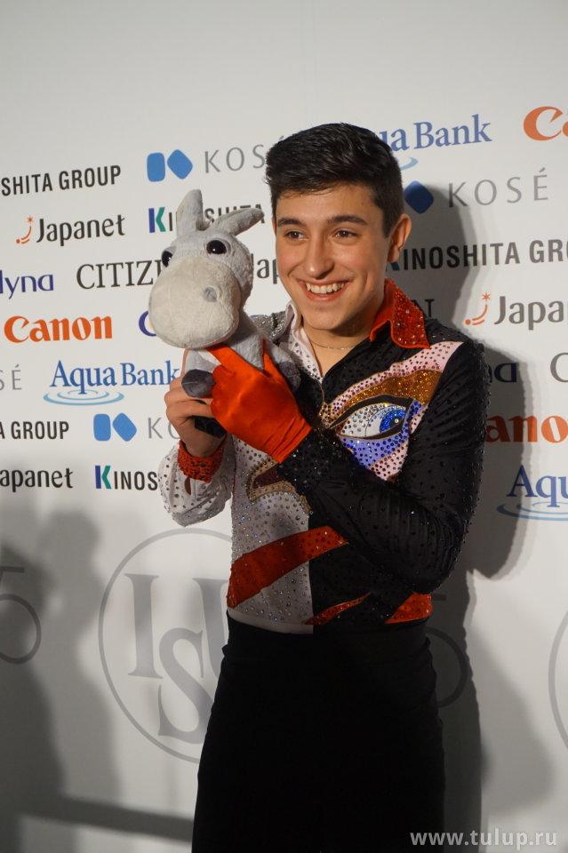 Daniel Samohin с осликом