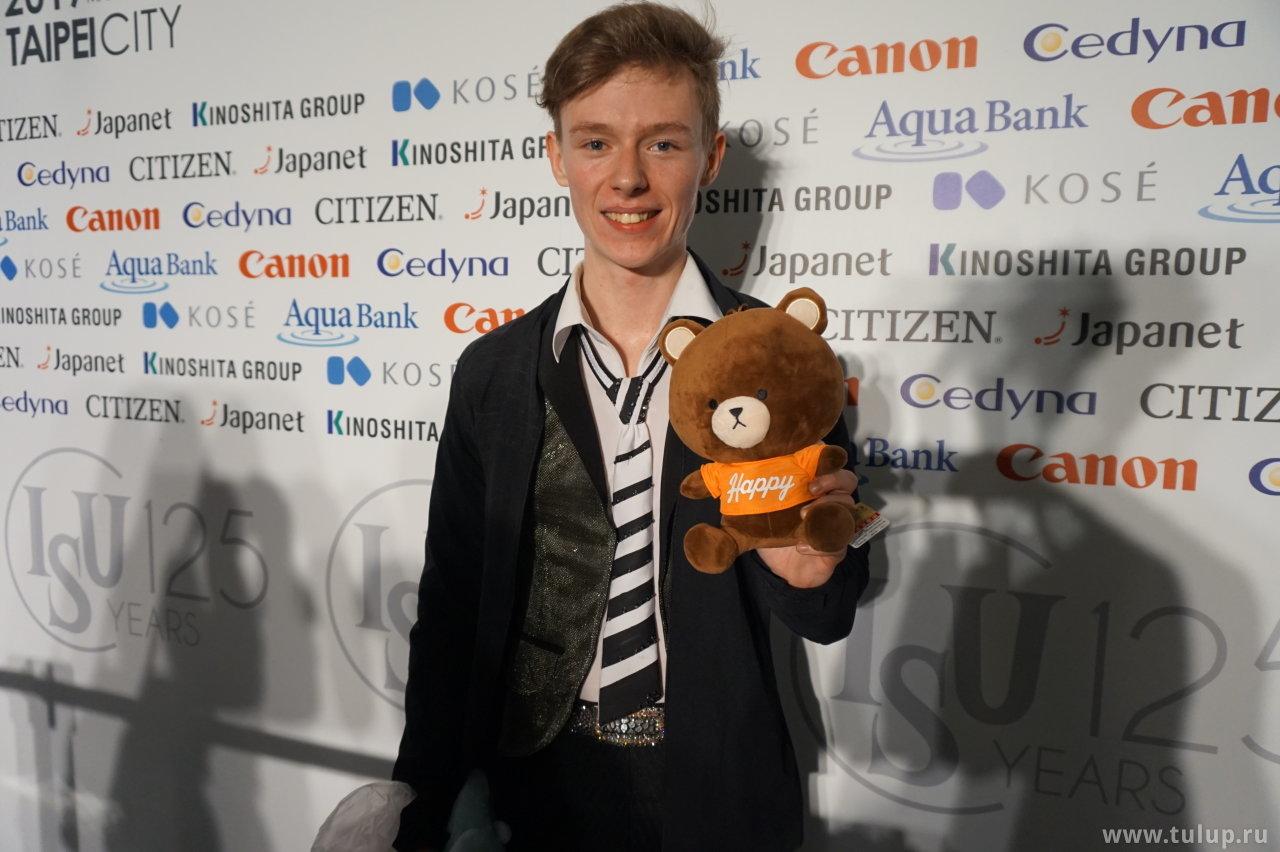 Alexander Petrov is Happy