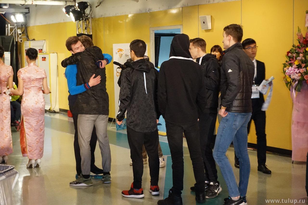 Дмитрий Алиев принимает поздравления