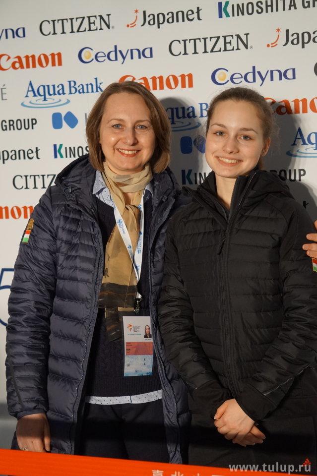 Daria Jakab с мамой