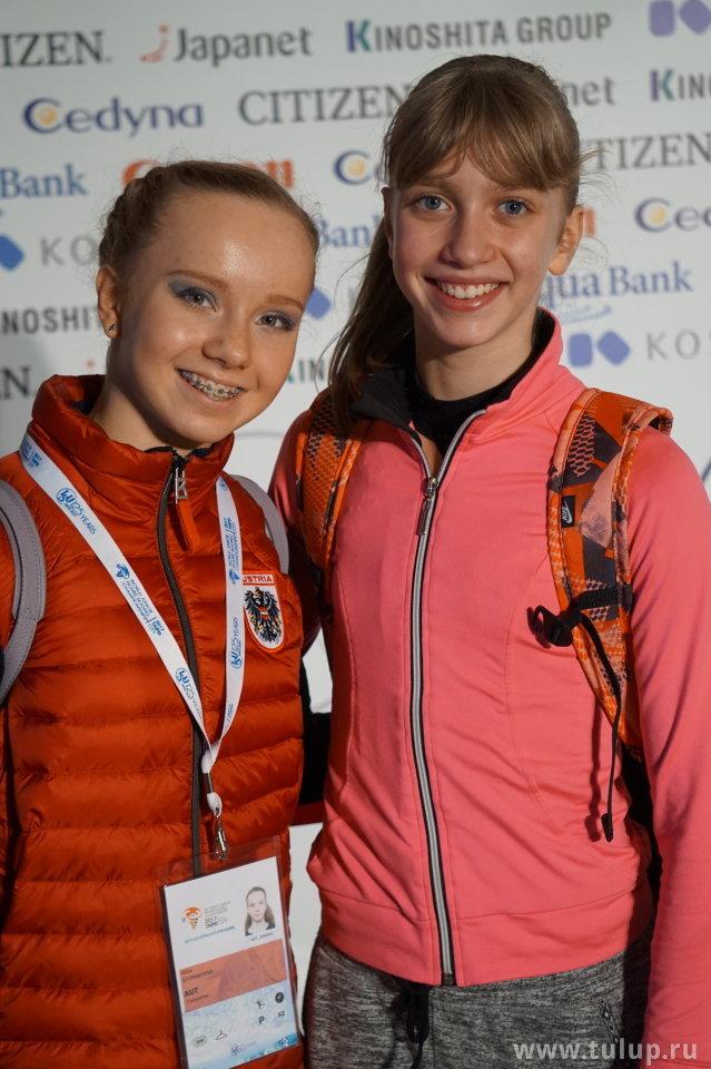 Alisa Stomakhina and Alexandra Faigin