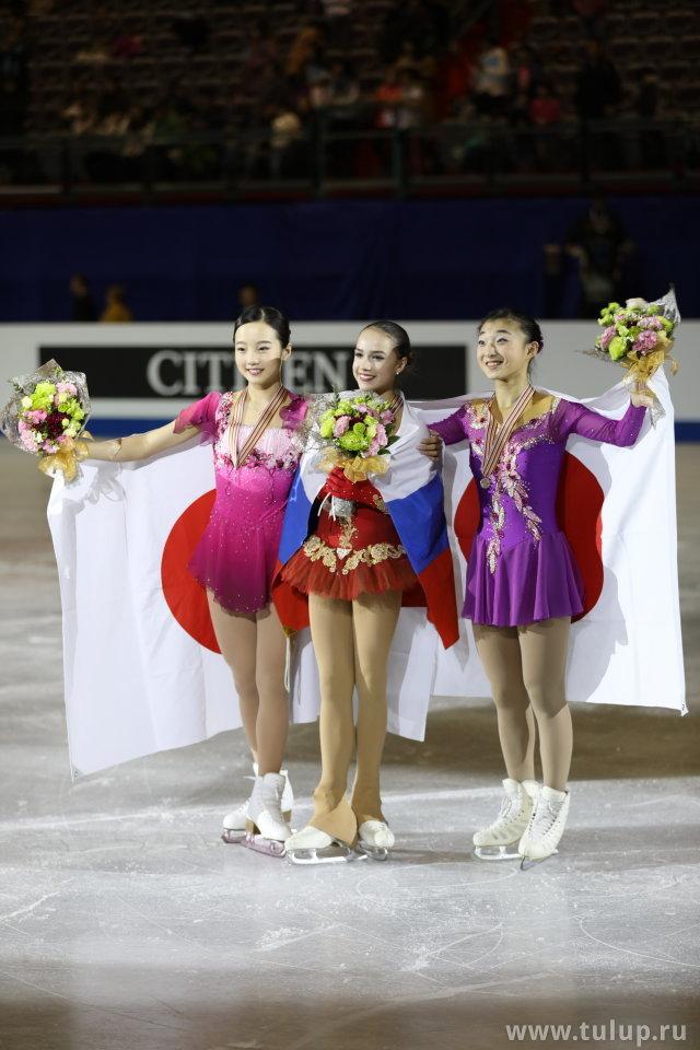 Медалистки