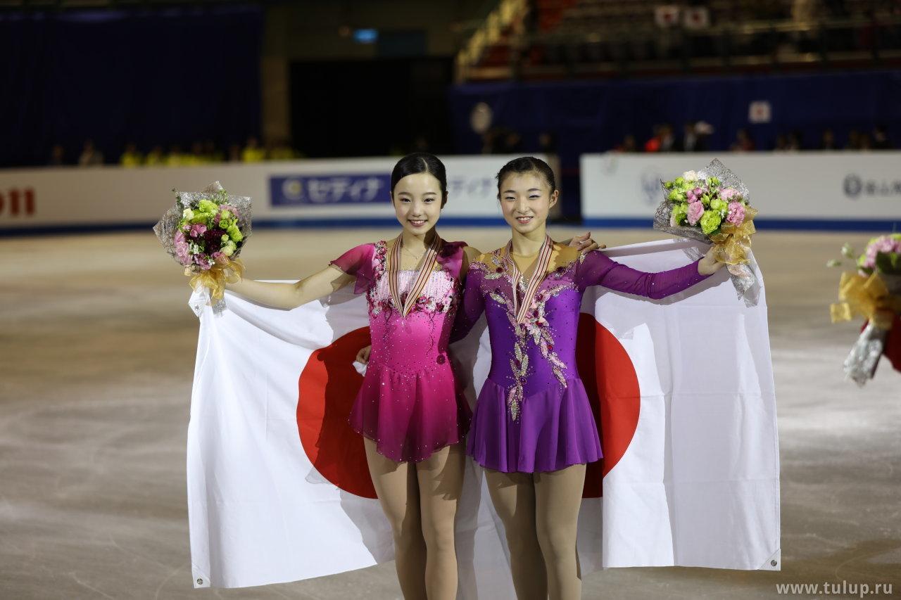 Marin Honda and Kaori Sakamoto