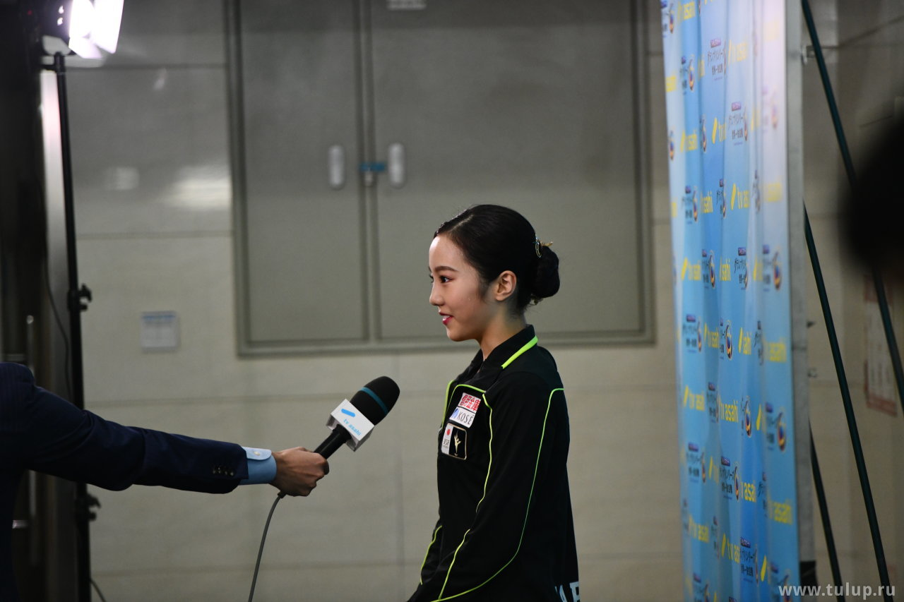 Marin Honda японскому телевидению