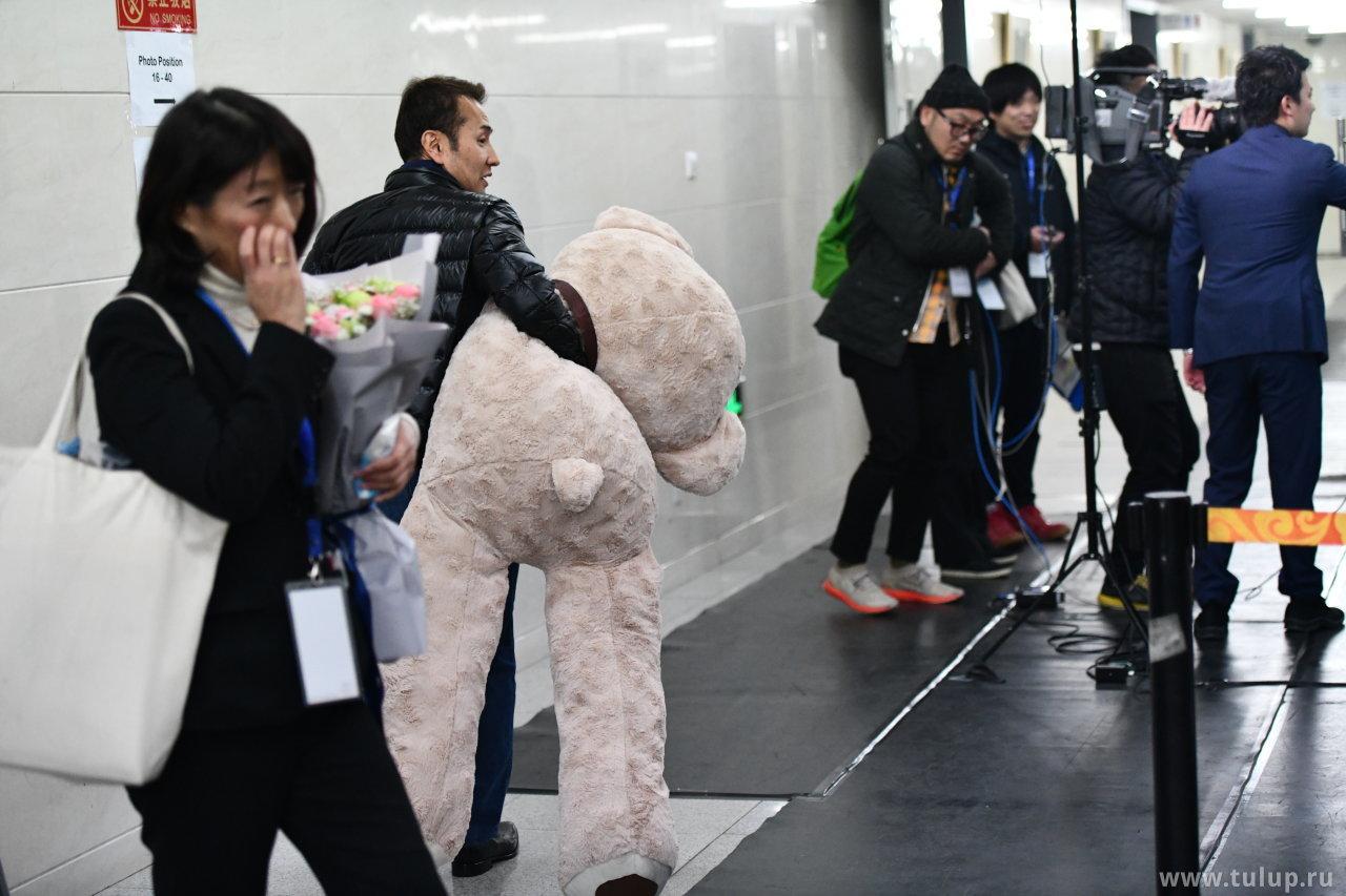 Вынос медведя Вакабы Хигучи