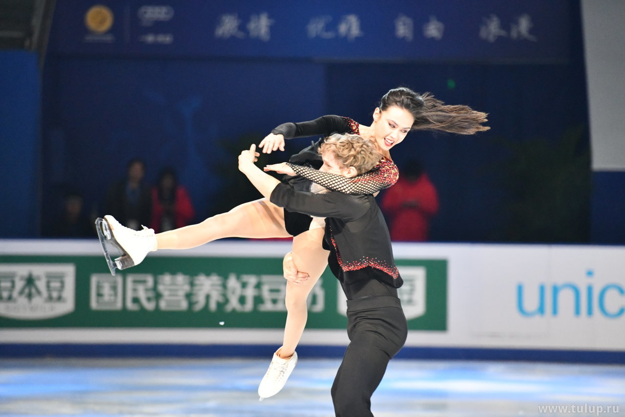 Madison Chock — Evan Bates