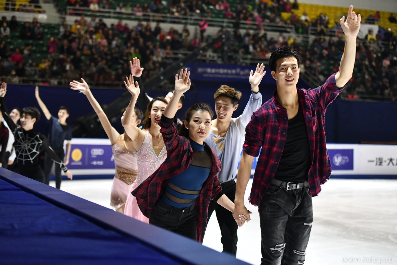 Китайские танцоры