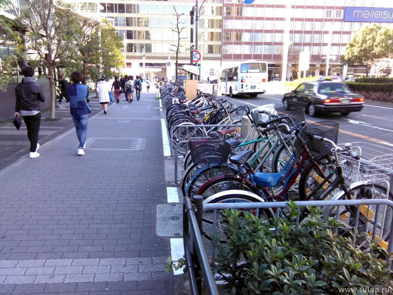 Электронная велопарковка