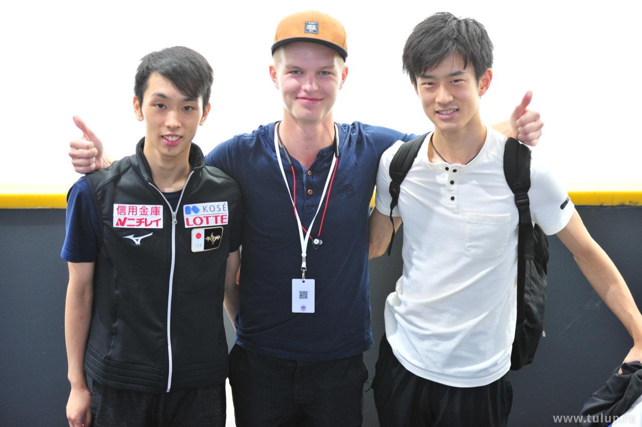 Mitsuki Sumoto, Артем Лежеев и Sota Yamamoto