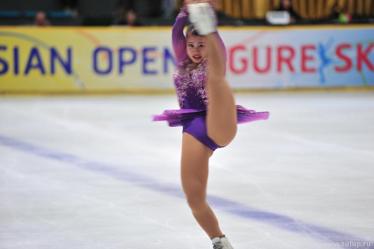 Yuna Shiraiwa — Ninja spin