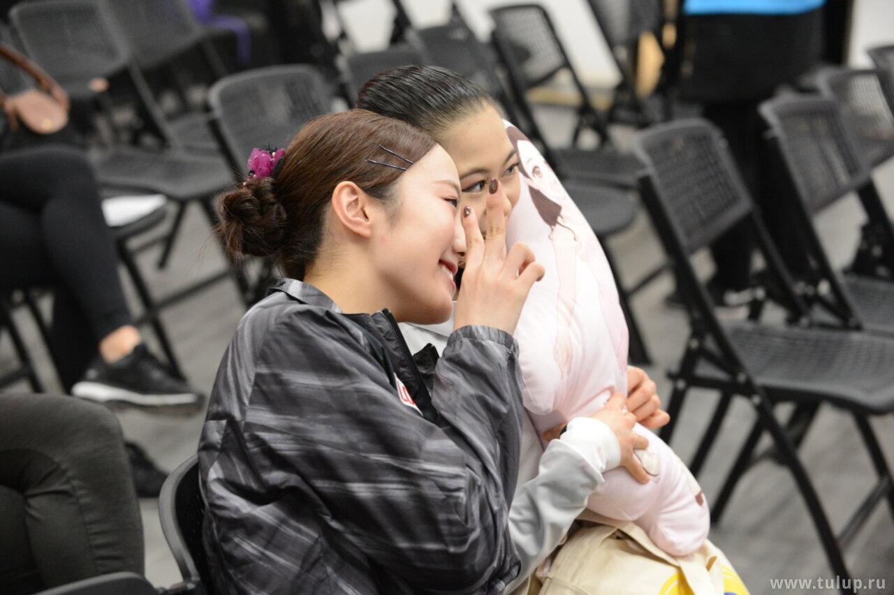 Marin Honda and Satoko Miyahara