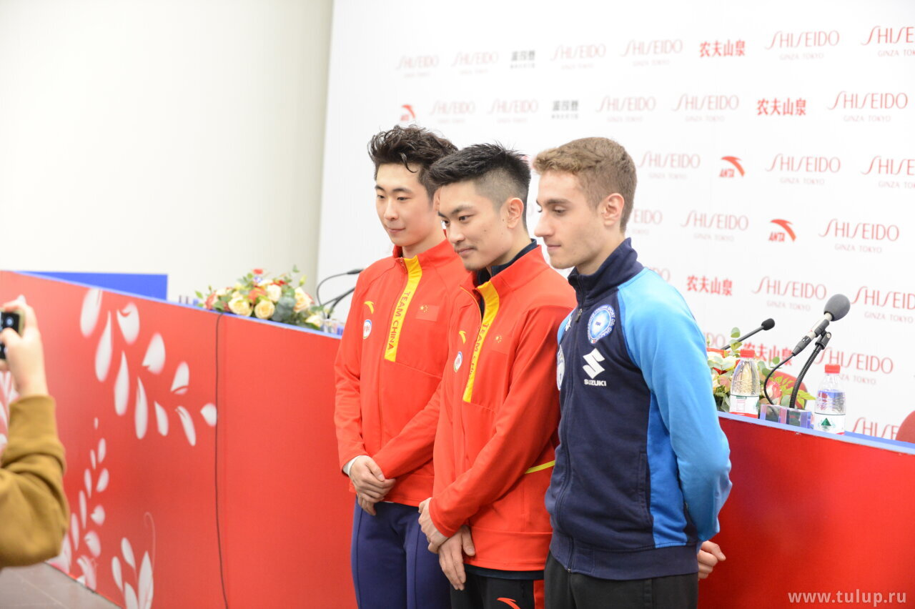Short medalists