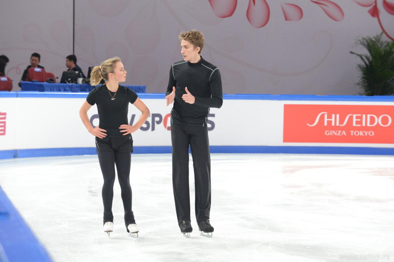 Alisa Efimova — Alexander Korovin