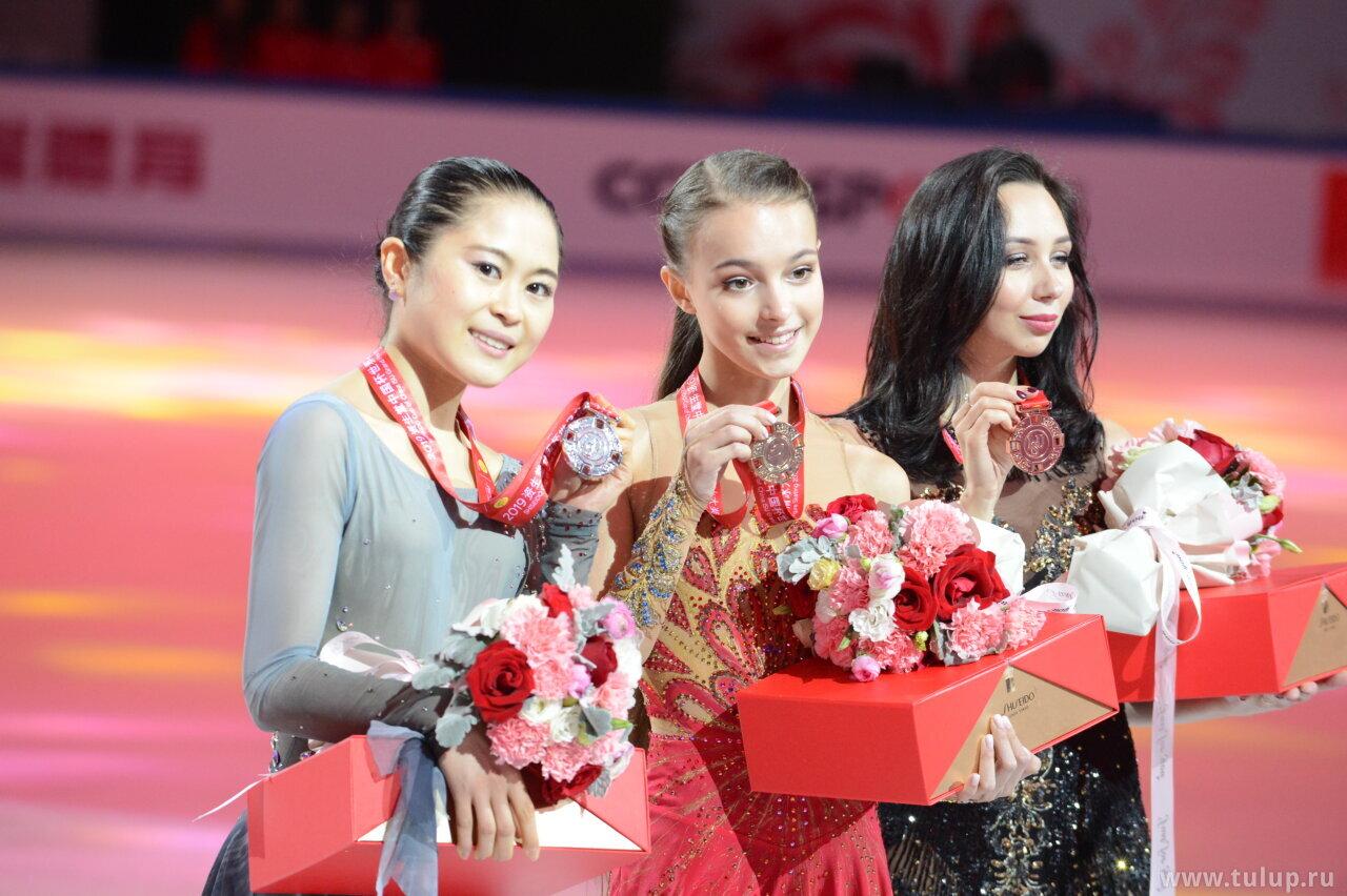 Ladies medalists