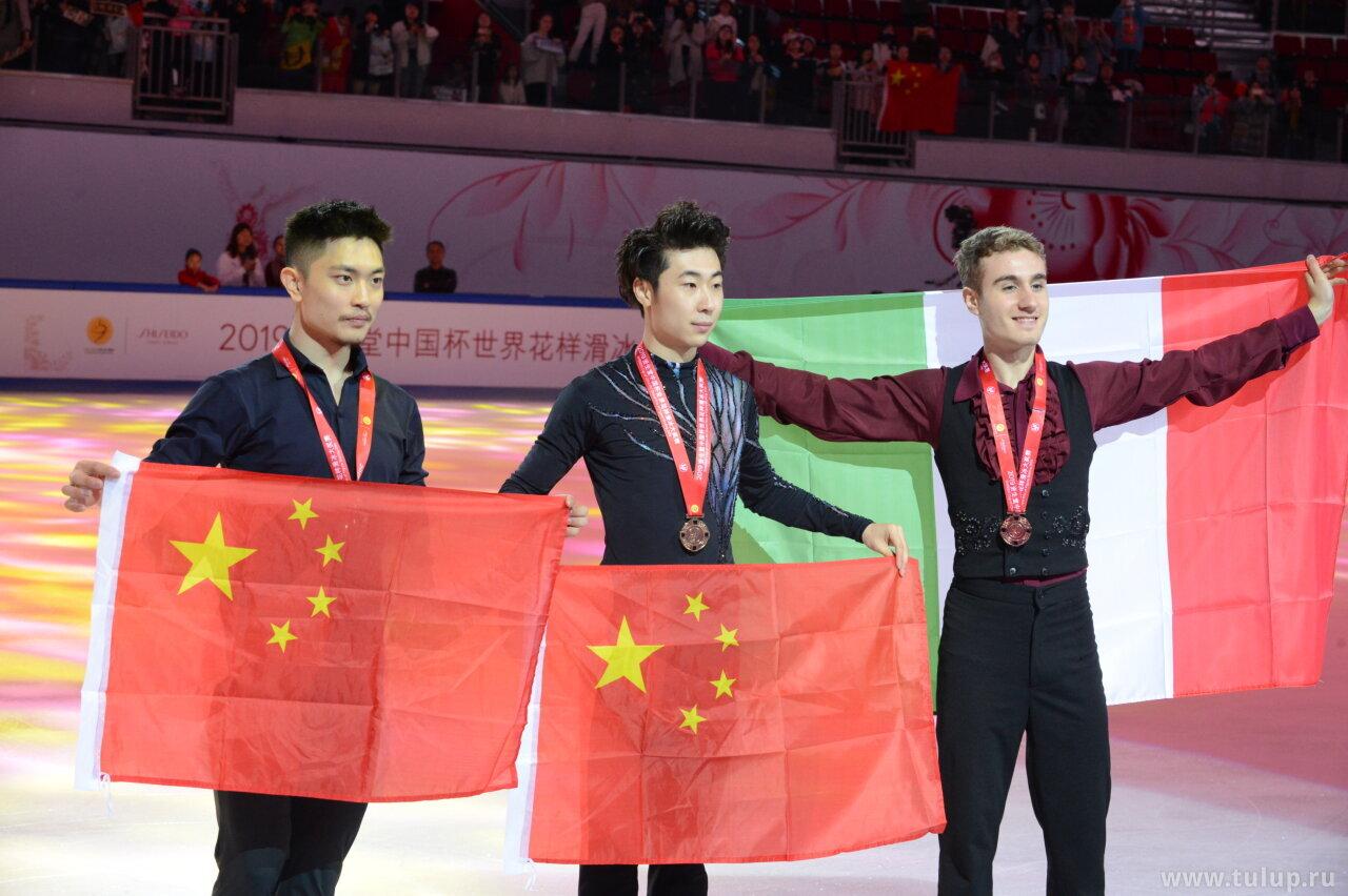 Men medalists